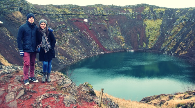 The probing wife travels in Reykjavik, Iceland