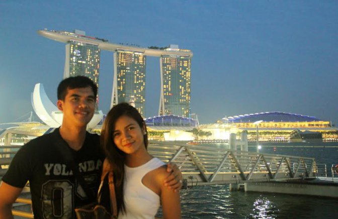 Chilling in Singapore