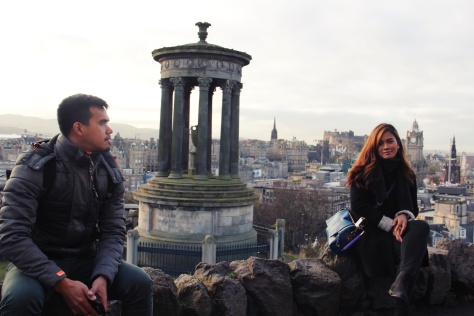 Edinburgh - The probing wife